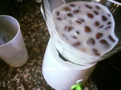 عصير اللوز الصحي