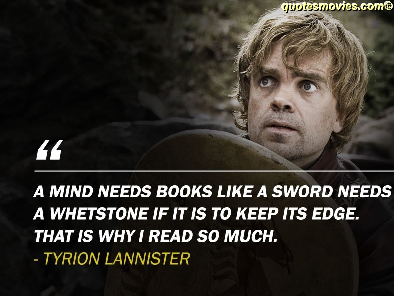Tryion Lannister quotes