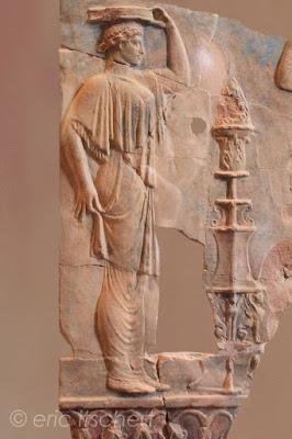 Voyage à Rome, mont palatin, décorations murales, antiquité romaine, plaques en terre cuite, Rome,