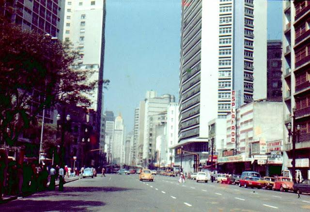 Foto antiga de São Paulo