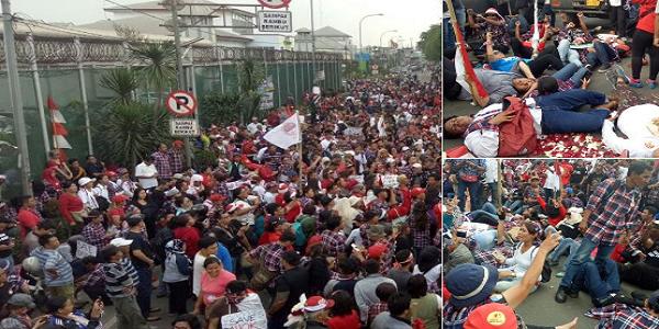 Aksi Brutal Ahoker Serbu Lapas Cipinang