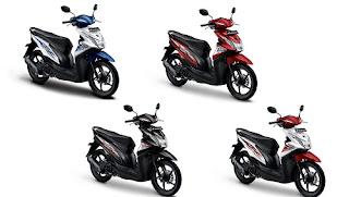 Honda Beat Baru, Honda Beat Biru, Honda Beat Biru Putih, Honda Beat Harga, Honda Beat Babylook.