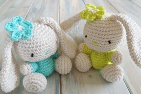 Crochet Rabbit with Pattern - Crochet Baby