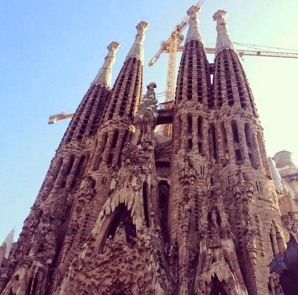Karta Over Sevardheter I Barcelona.Berg Beach Och Tapas Ata Sova Och Se I Barcelona Peches Mignons