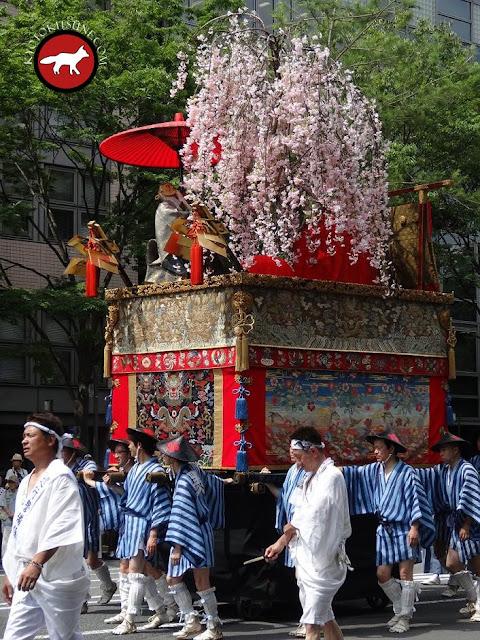 Char Kuronushi yama de Gion matsuri à Kyoto