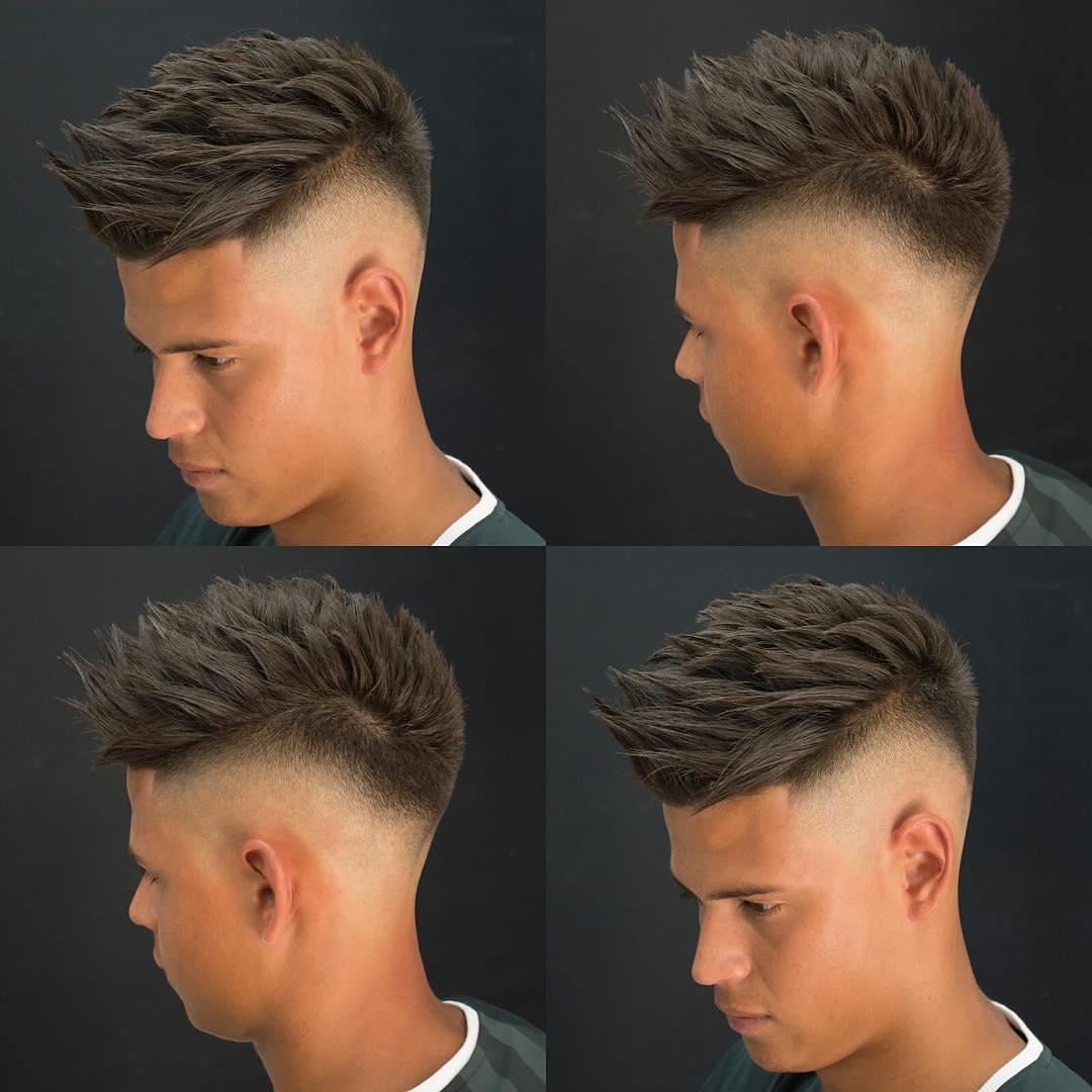Taglio capelli uomo 2018 sfumatura