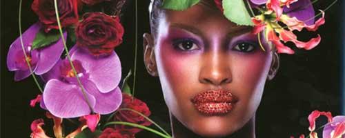 maquillaje artístico para mujeres de color