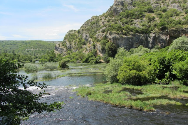 Kroatië, Nationaal Park Krka, Roski Slap