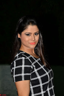 Shilpa Chakravarthy in Dark blue short tight dress At Srivalli Movie Pre Release Event ~ Exclusive Celebrities Galleries 036