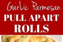 Garlic Parmesan Pull Apart Rolls Recipe