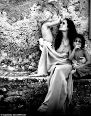 Angelina Jolie poses with children in beautiful photos taken by Husband Brad Pitt for W Magazine