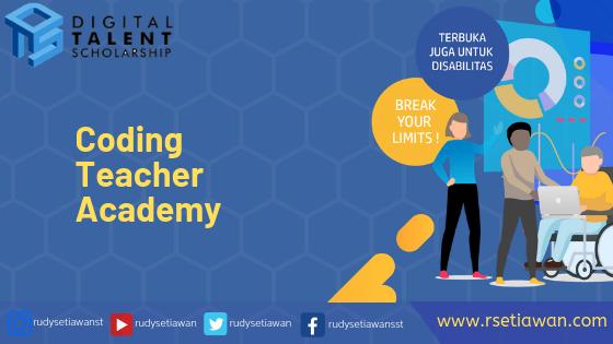Beasiswa Coding Teacher Academy dari Kominfo