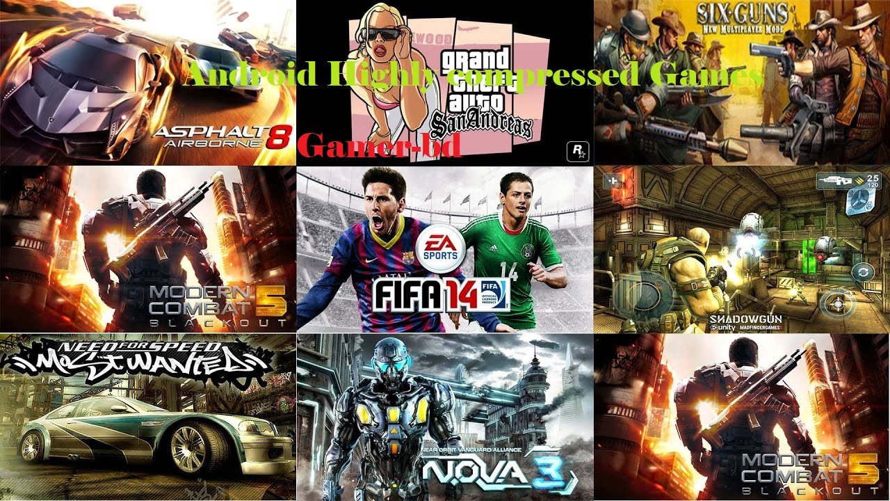 Download android games highly compressed