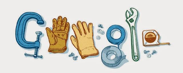 Google Labor Day Theme