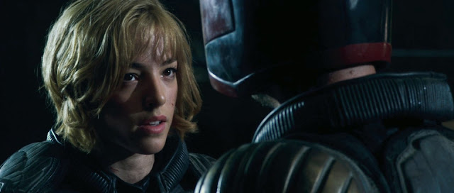 Dredd Judge Anderson played by Olivia Thirlby