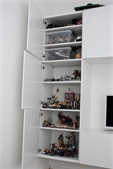 legojen säilytys, pojan huone, eskarilaisen huone, koululaisen huone