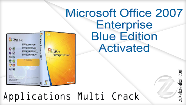 Microsoft Office 2007 Enterprise Blue Edition Activated