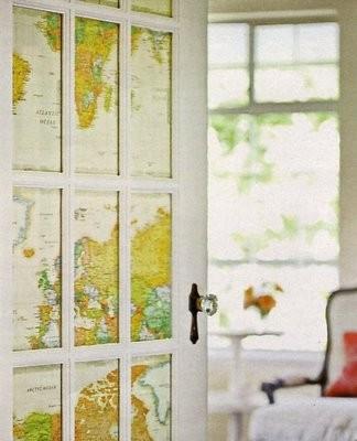 Cosas de palmichula forrar muebles con papel pintado - Papel pintado para puertas ...