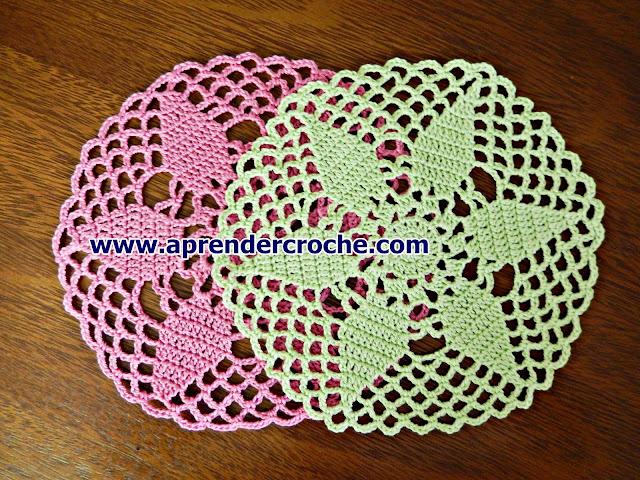 como fazer toalhinha de croche Edinir-Croche