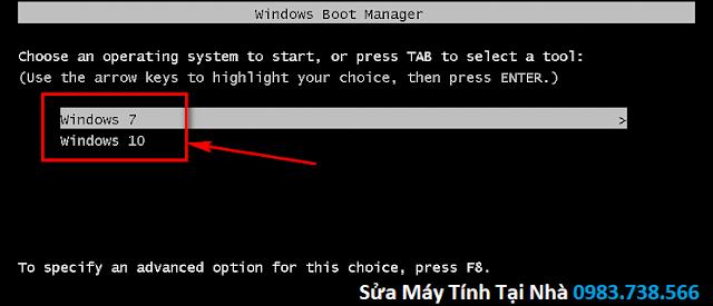 Hai hệ điều hành Windows chạy song song