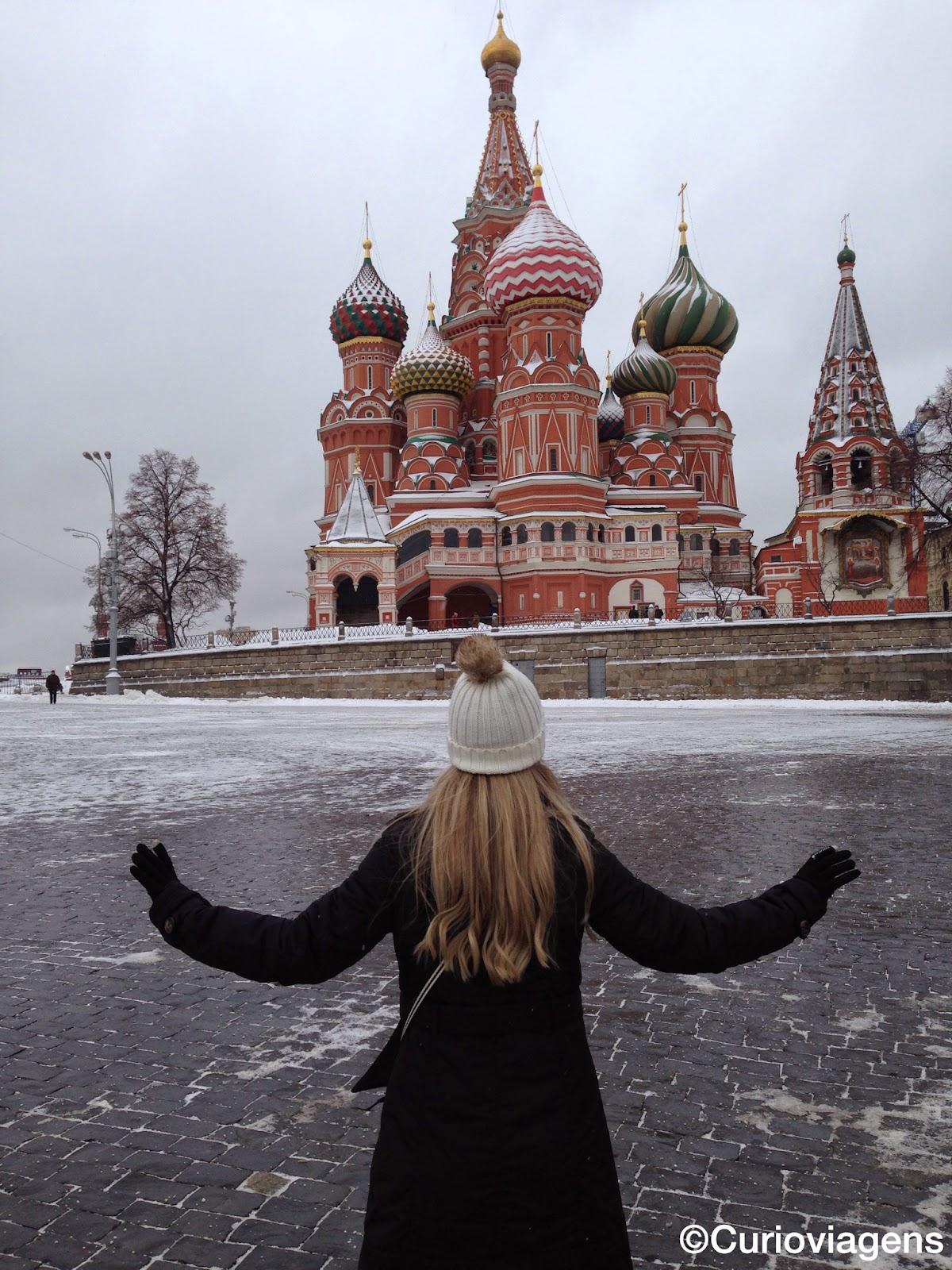 Roteiro em Moscou