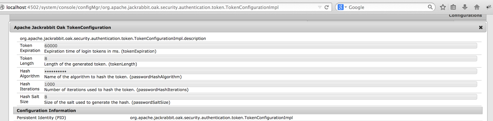 How to set timeout for login-token | FAQ