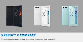 Harga dan spesifikasi Sony Xperia X Compact Terbaru