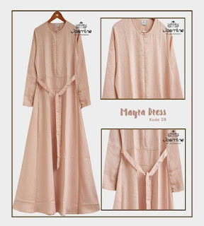 Gamis Jasmine Mayra Dress 28