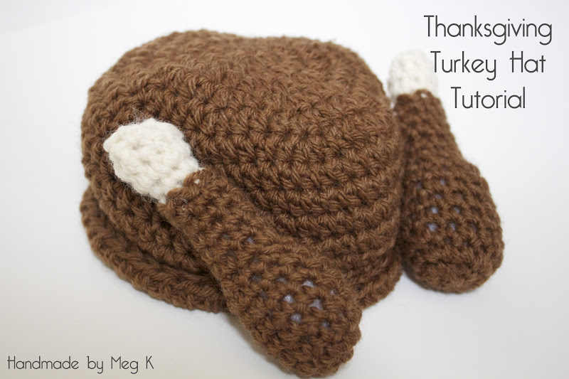 Handmade by Meg K  DIY Crocheted Turkey Hat 2061d3465f3