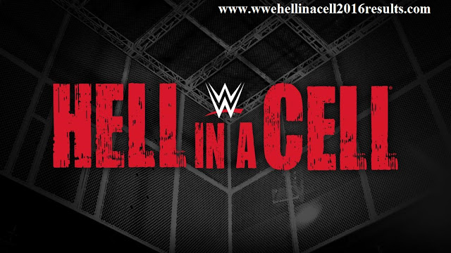 Hell in a cell 2016 Matches