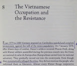 Vietnamese Occupation and Resistance