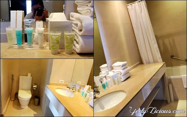 Bathroom at the Penthouse Suit of B Hotel in Alabang