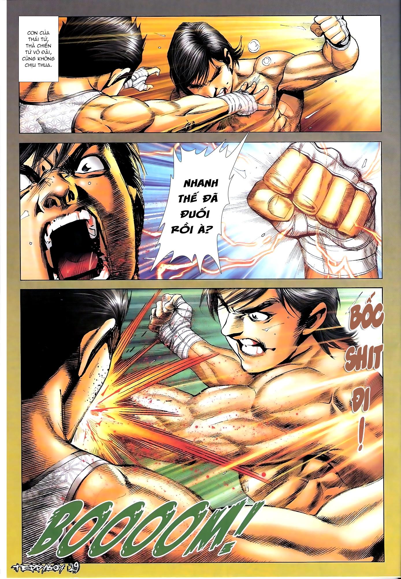 Người Trong Giang Hồ - Chapter 1307: Vinh Nhục Nhất Chiến 2 - Pic 26