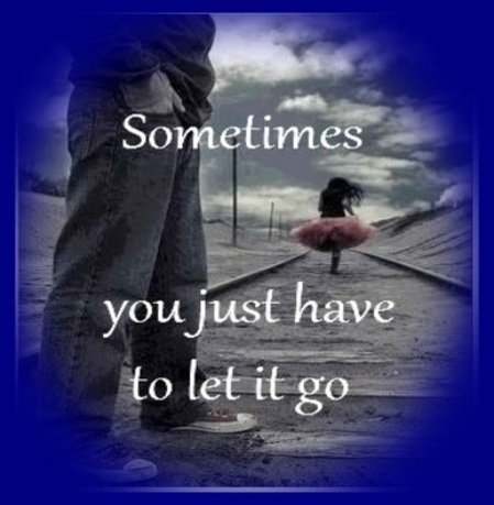 Sometimes you just have to let it go.