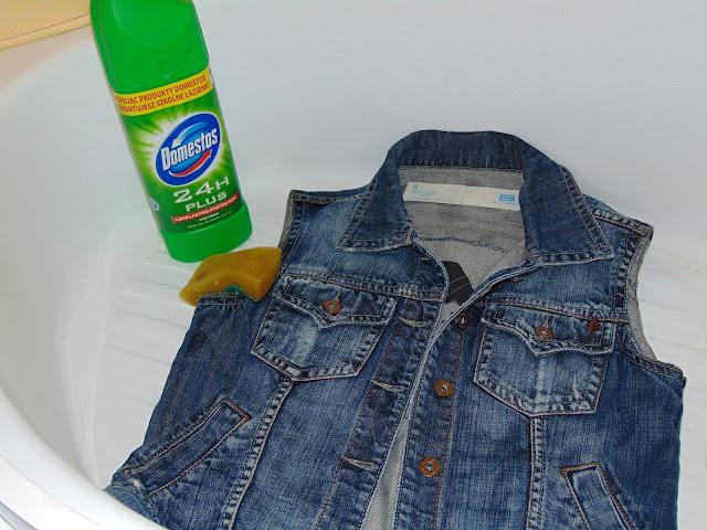 wybielanie jeansu metodą Acid Wash Jeans