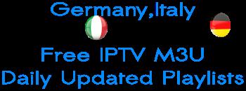IPTV M3U RTL Germany Sky RAI Italy Premium