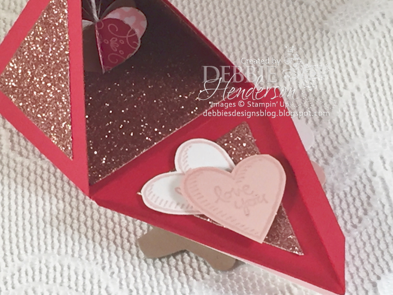Debbie\'s Designs: Valentine\'s Pyramid Pals Surprise!