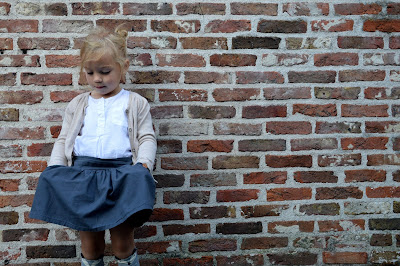 rokje, kniekousen, Mini Dressing, Lotta-skirt, sober,