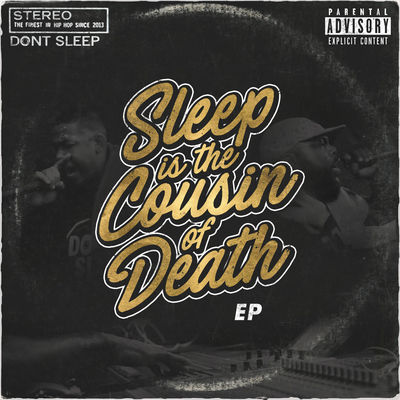 Awon & Dephlow - Sleep Is The Cousin Of Death (EP) - Album Download, Itunes Cover, Official Cover, Album CD Cover Art, Tracklist
