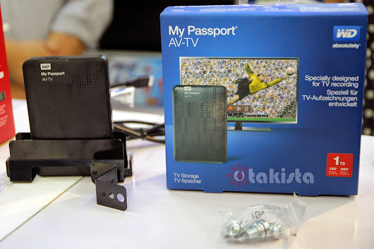 Western Digital Media Tour & Product Update (My Passport AV - TV & WD Live TV) ~ Otakista