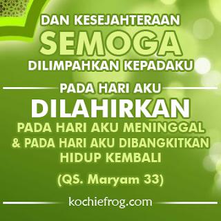 Ucapan Selamat Ulang Tahun Islami (Spesial) - DP BBM KATA ...