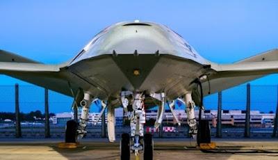 Boeing Perkenalkan Drone Militer Berbentuk Ikan Pari