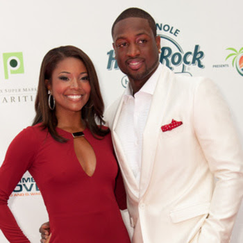 Other guests including Wade's girlfriend Gabrielle Union ...