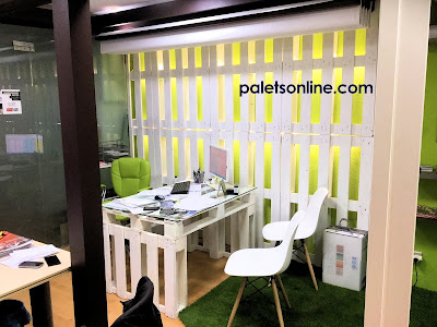 oficina europalet color blanco Paletsonline.com