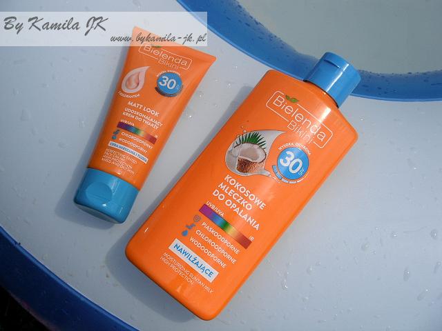Bielenda Bikini mleczko krem do twarzy do opalania spf 30 ochrona przeciwsłoneczna