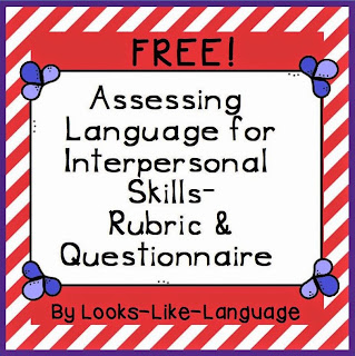 Social Skills Freebie from Looks Like Language