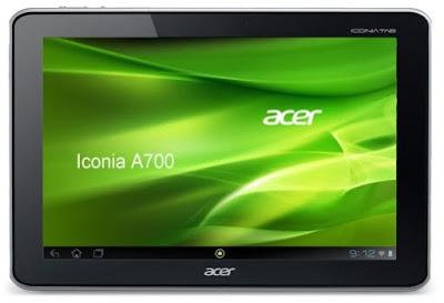 Harga dan Spesifikasi Tab Acer Iconia A700 Tahun 2017
