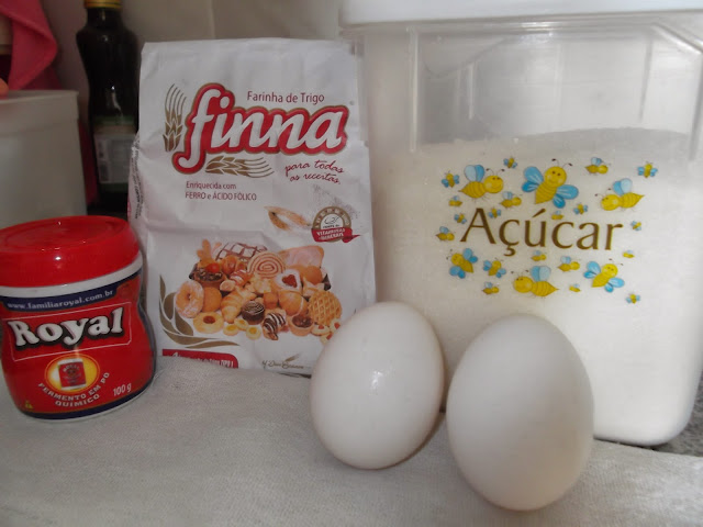Ingredientes da broa (Foto: Aline Lima)
