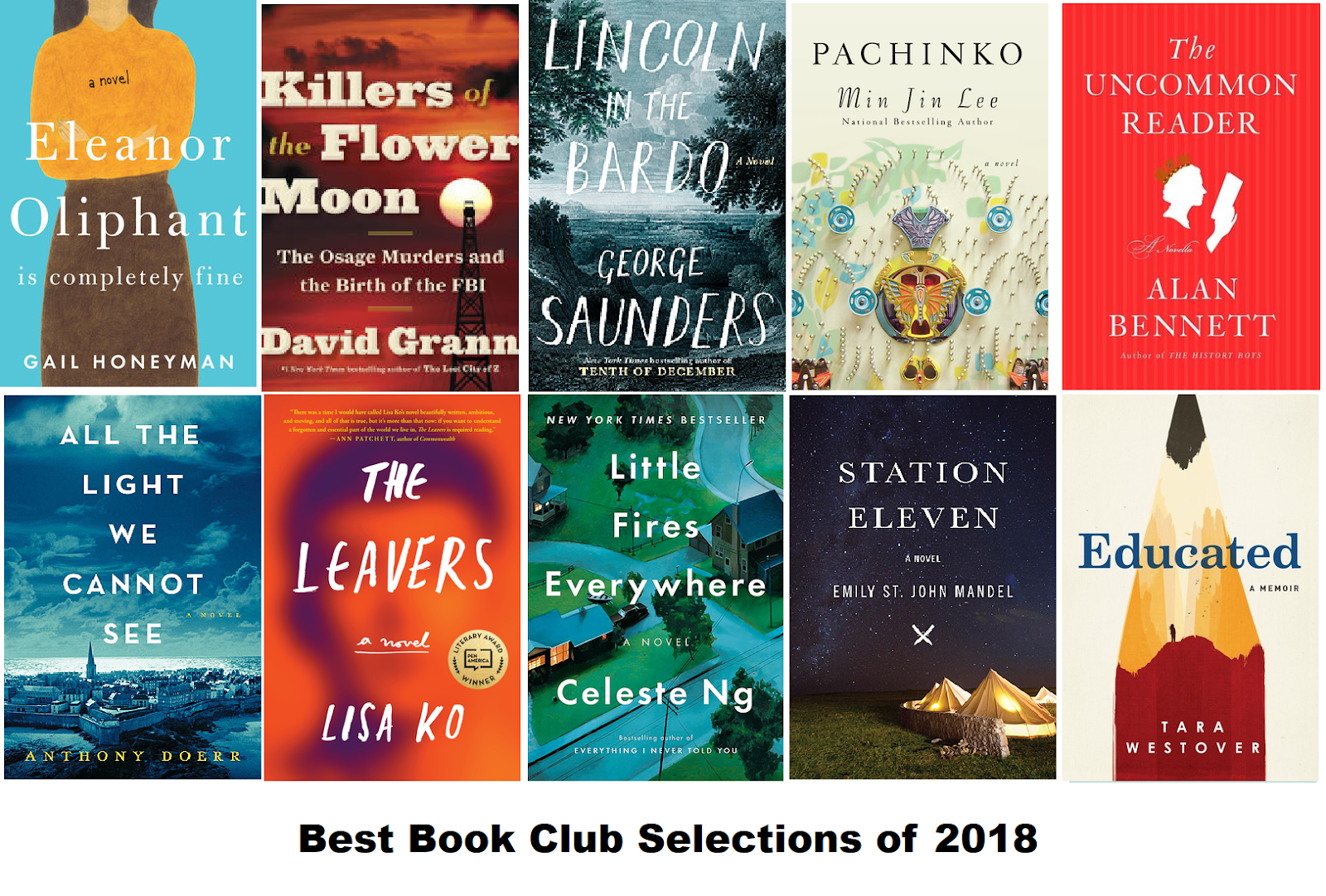 Best Books For Book Clubs 2019 My Head Is Full of Books: Best Book Club Selections of 2018