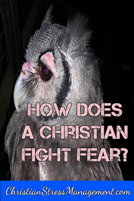 how does a Christian fight fear